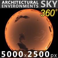 Sky 360 Sunset 054 5000x2500