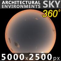 Sky 360 Sunset 061 5000x2500