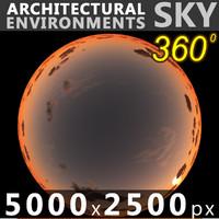 Sky 360 Sunset 067 5000x2500
