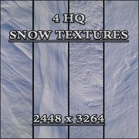 4 QH Snow Textures