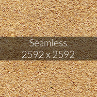 Sesame seed texture map
