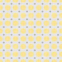 Coordinated Cottons - Yellow on White Modern Dots