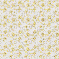 Coordinated Cottons - Yellow on White Floral