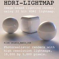 HDRI studio basic 016