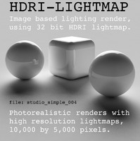 HDRI studio simple 004