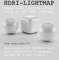 HDRI studio tent 001