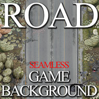 Road Game Background
