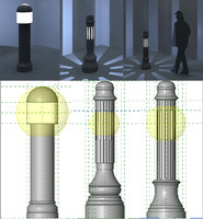 Traditional Light Bollards
