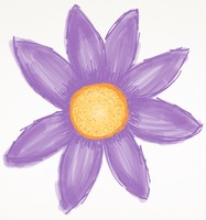 Cute Purple Flower