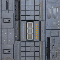 Sci-Fi textures pack