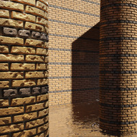 High Resolution Tileable Stripes Brick (5)