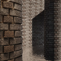 High Resolution Tileable Dotted Brick (4)