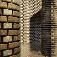 High Resolution Tileable Dotted Brick (5)