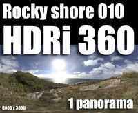 Hdr Rocky shore 010