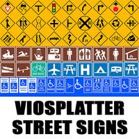 VioSplatter Street Signs