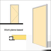 Door Swing Single Metal wpb 01470se
