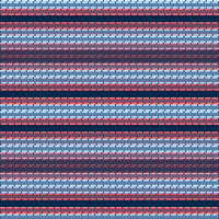 Country Club Twills - Ocean Sunrise Sunrise Stripe