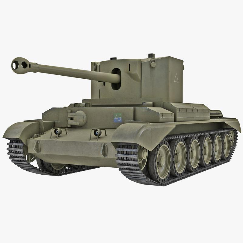 3d cruiser tank mk viii