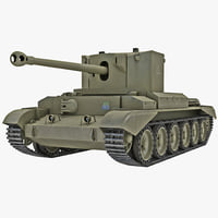 Cruiser Tank Mk VIII Challenger United Kingdom 2
