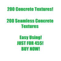 200 Concrete Textures