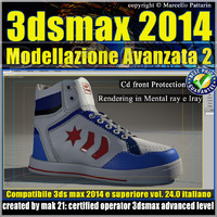 3ds max 2014 Modellazione Avanzata 2 v.24 Italiano cd front