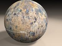 MATERIAL - Seamless Lichen Sandstone