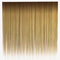 Blond Straight Hair Texture
