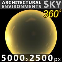 Sky 360 Sunset 021 5000x2500