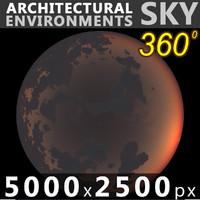 Sky 360 Sunset 029 5000x2500