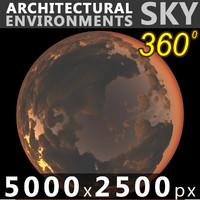 Sky 360 Sunset 031 5000x2500