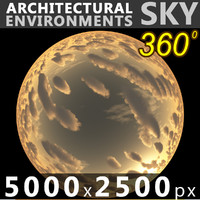 Sky 360 Sunset 036 5000x2500