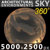 Sky 360 Sunset 039 5000x2500