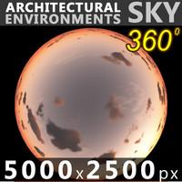 Sky 360 Sunset 042 5000x2500