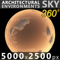 Sky 360 Sunset 047 5000x2500
