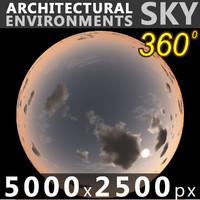 Sky 360 Sunset 059 5000x2500
