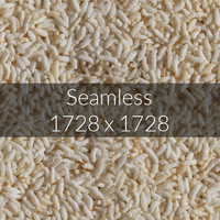 Backed Rice texture map