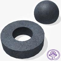 Shagreen Leather Tile