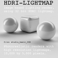 HDRI studio basic 008