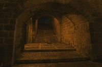 Medieval tunnel