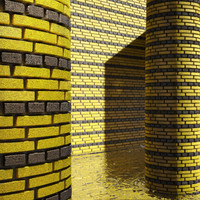 High Resolution Tileable Stripes Brick (1)