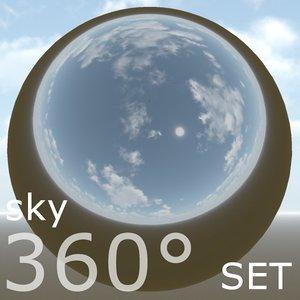 360 environment sky texture 04