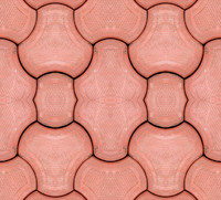Red Block Tile Texture 1