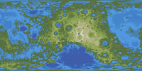 Large Terraformed Moon Map