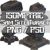 Sam Site 1 - Isometric