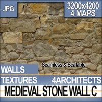 Medieval Stone Wall C