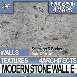 Modern Stone Wall E