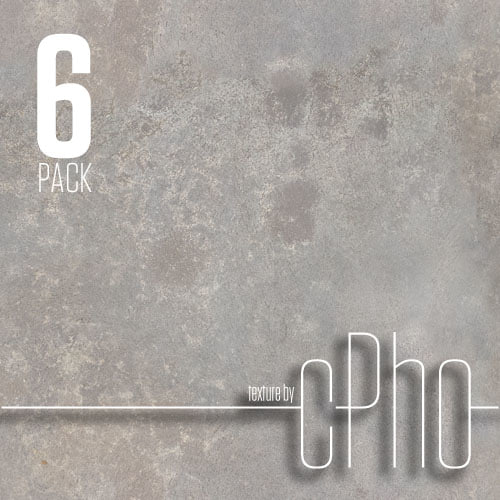 TEXTURE 6 PACK - Seamless Concrete 01 & 02