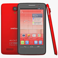 Alcatel One Touch Scribe X Red
