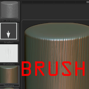 Zbrush Scratches