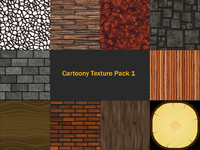 Cartoony Texture Pack 1